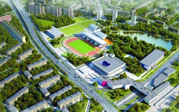 Что в будущем ждет стадион «Москвич»