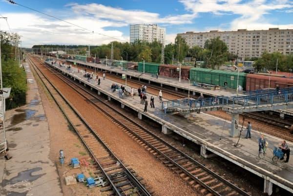 На станции «Опалиха» рижского направления МЖД открылась временная платформа