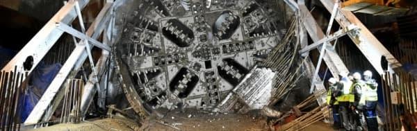Новый щит-гигант на Большом кольце метро назовут «Победа»
