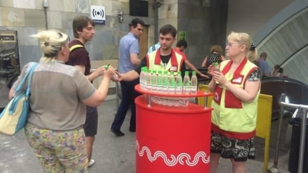 Что сегодня происходит в московском метро из-за жары