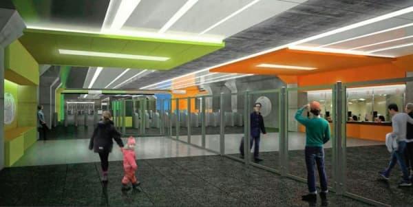 Новый дизайн станции метро «Нижегородская» удивил критиков искусства