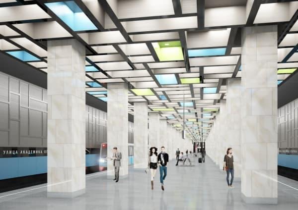 Новая станция метро «Университет дружбы народов» пополнит карту Москвы