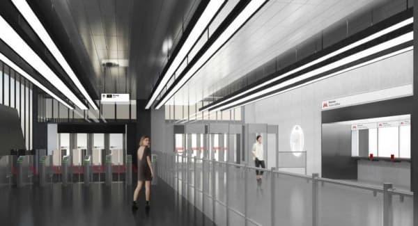 Пассажиры увидят необычный дизайн станции «Печатники» на БКЛ