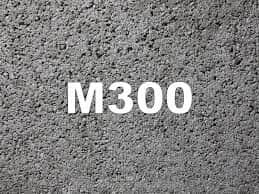Сколько цемента на 1 м3 бетона М300