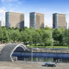 Предложение элитной недвижимости на набережных Москвы сократилось на 10% за полгода