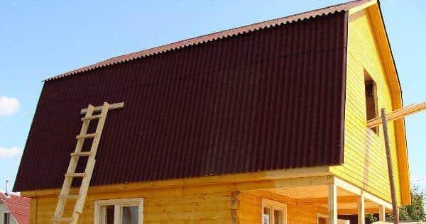 Ломаная крыша для мансарды