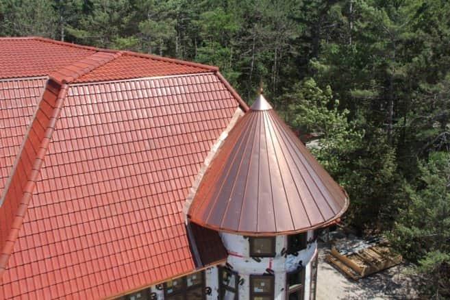 Медная крыша