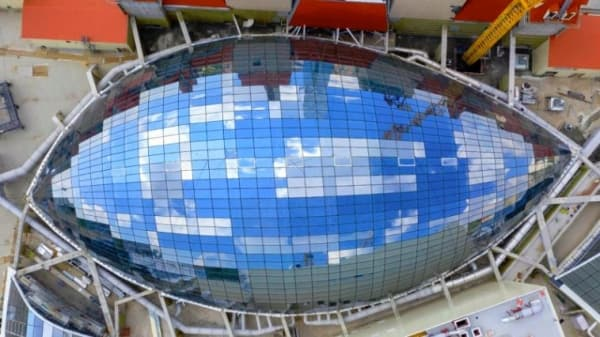 Хуснуллин: в Москве появился самый большой по стране стеклянный купол