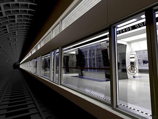 Московское метро остеклили «бронебойными» стеклами