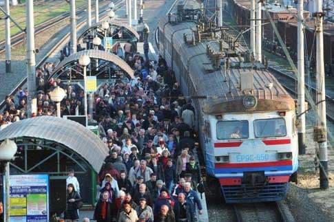 Стабильный сбой в понедельник в движении электричек на Ярославском направлении