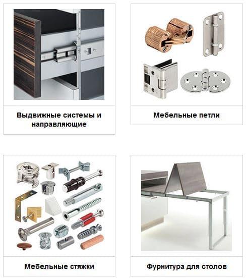 Мебельная фурнитура в городе Львов – лучшее предложение на рынке