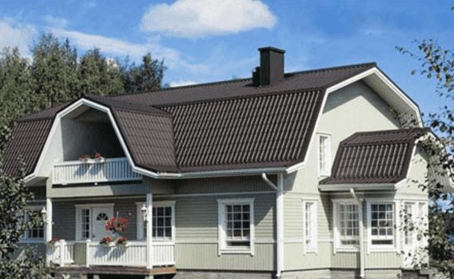 Проекты крыш частных домов с мансардой — Фото