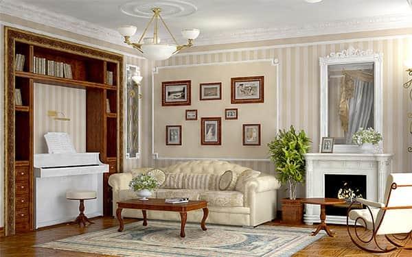 Ремонт гостиной, с чего начать и какой стиль лучше выбрать