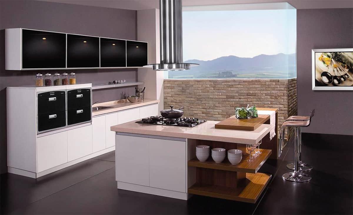 Современные тенденции обустройства кухонь: кухонный остров