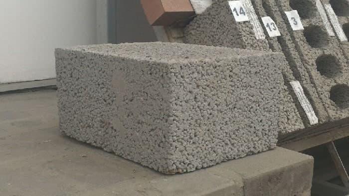 Строительные керамзитобетонные блоки