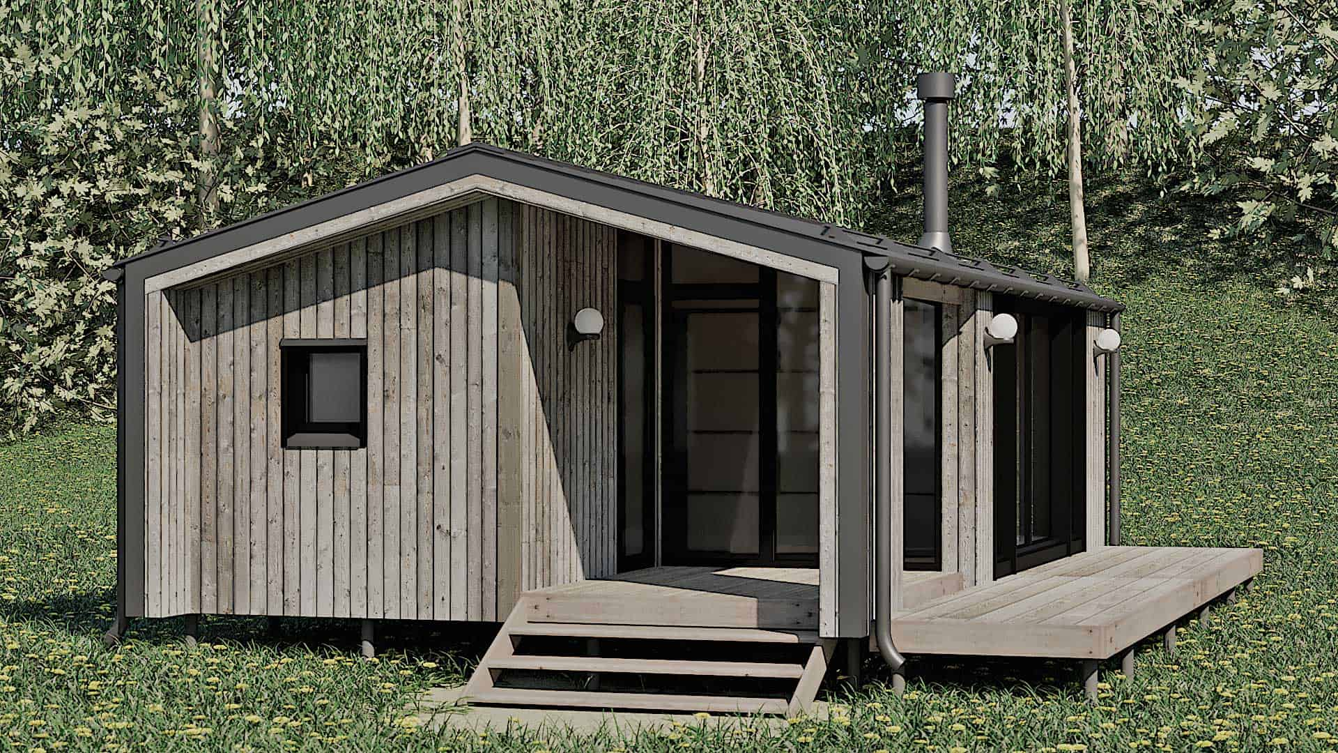 Типовые дома в стиле ДубльДом – гарантия качества