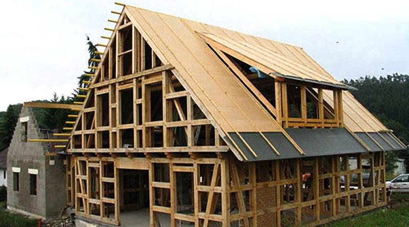 Строительство каркасно-рамочных загородных домов и коттеджей