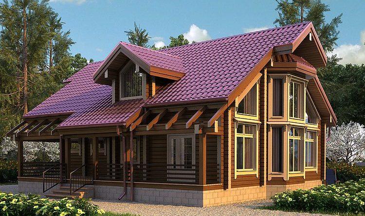 Строительство загородных домов из бруса