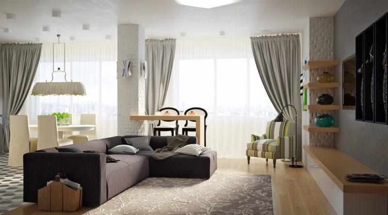 Как в квартире создать удобное пространство