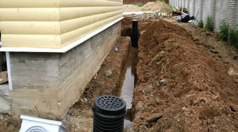 Какой сделать фундамент, если участок топит водой?