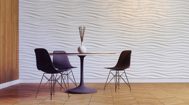 3D панели: уют и комфорт в доме