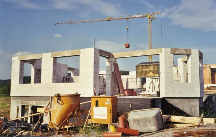 Дома из ячеистого бетона