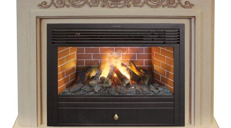 Электрический камин с имитацией пламени: особенности и важные достоинства