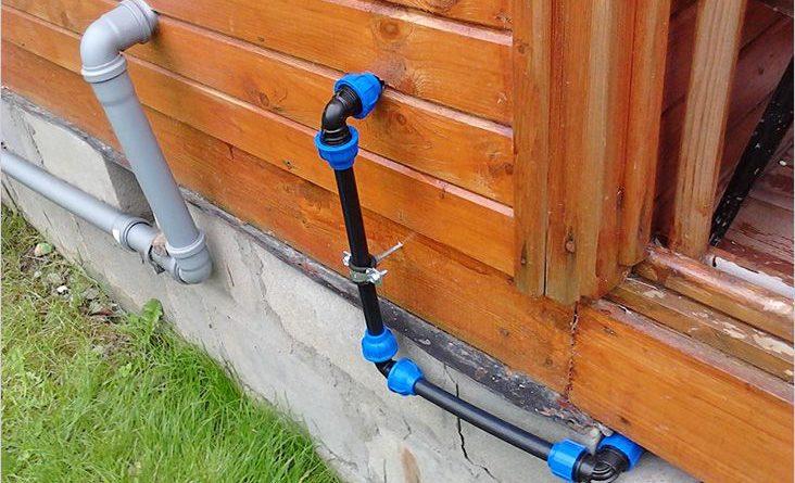 Как организовать водопровод на даче?