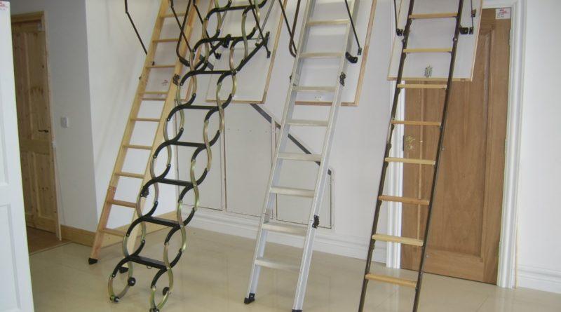 Как правильно выбрать чердачную лестницу?