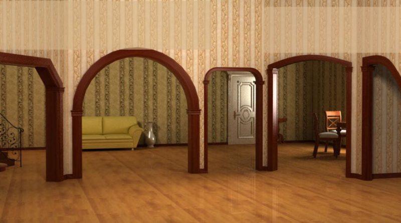 Как выбрать межкомнатную арку?