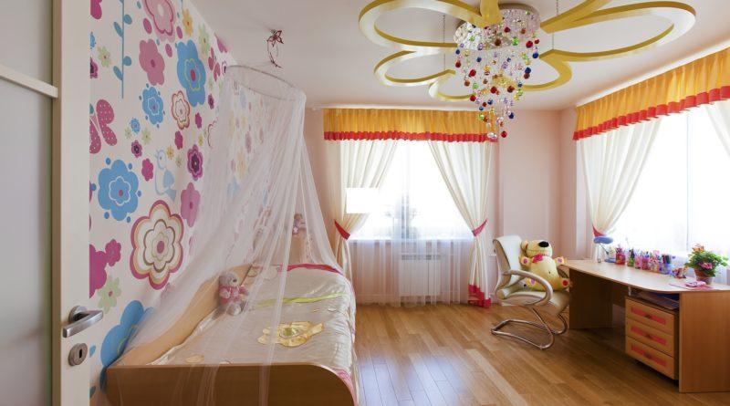 Какое освещение выбрать для детской комнаты