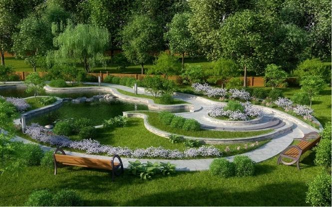 Ландшафтный дизайн и его преимущества