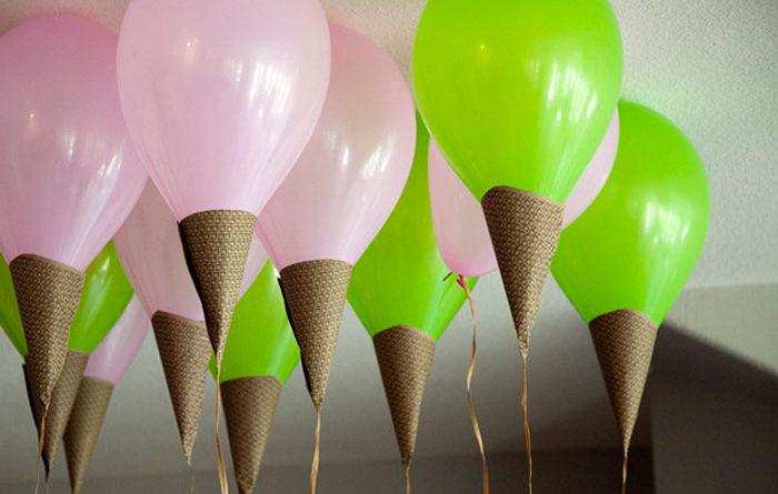 Необычные воздушные шары для праздника