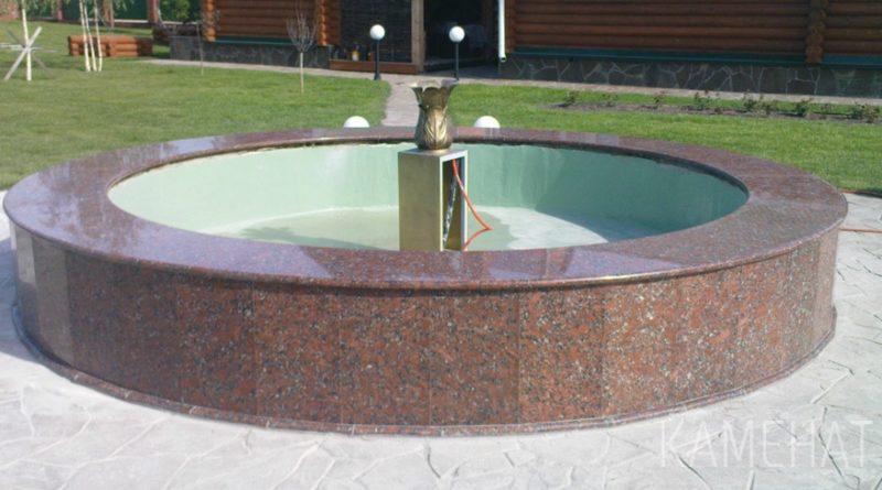 Особенности фонтанов из природного камня
