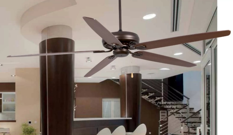 Преимущества использования потолочных вентиляторов