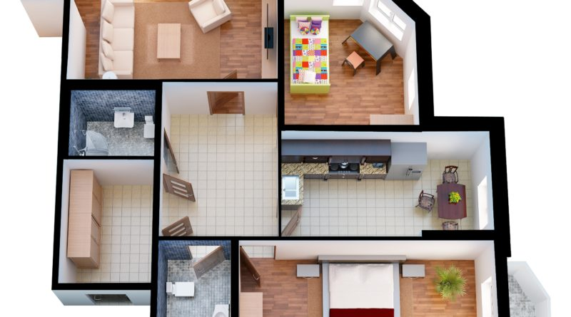 Преимущества трехкомнатных квартир