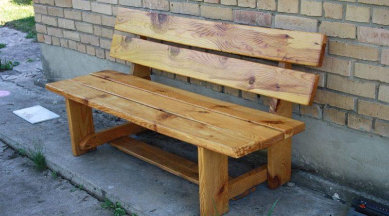 Скамейки для дачи.