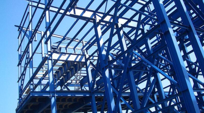 Строительный монтаж металлоконструкций