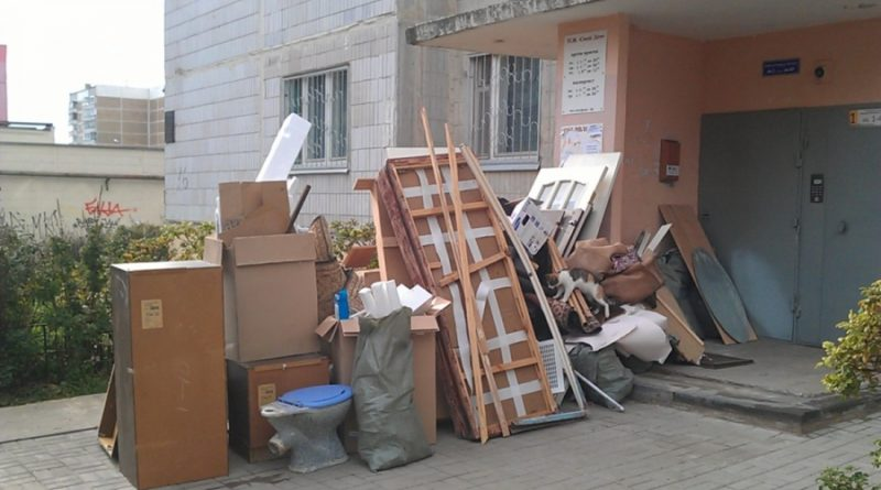 Утилизация мебели от профессионалов