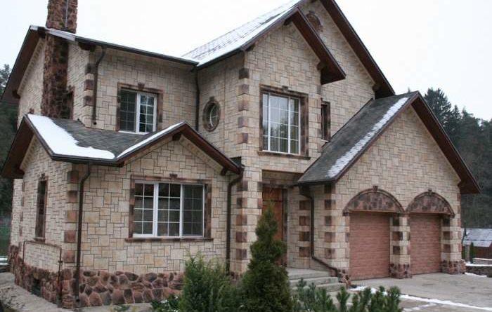 Варианты современного фасада дома