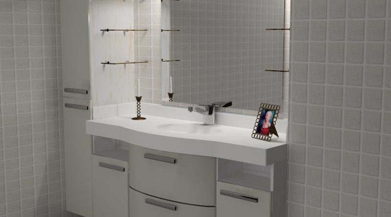 Виды мебели в ванную