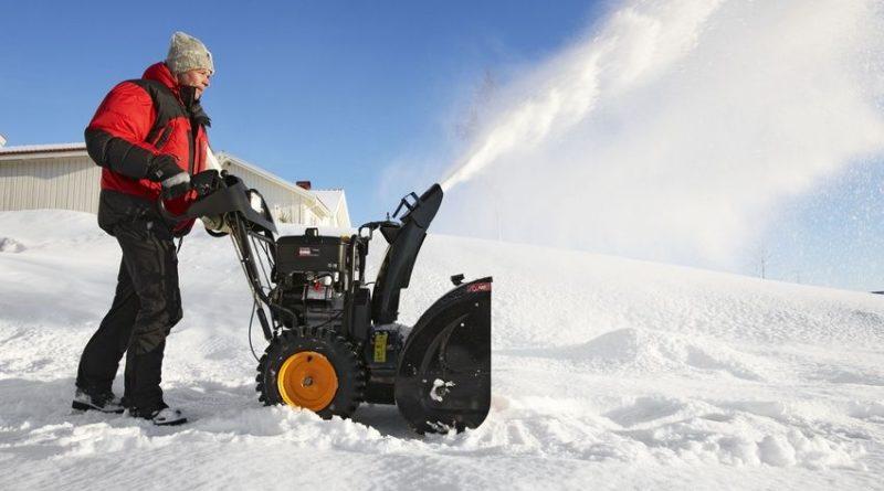 Виды самоходных снегоуборщиков