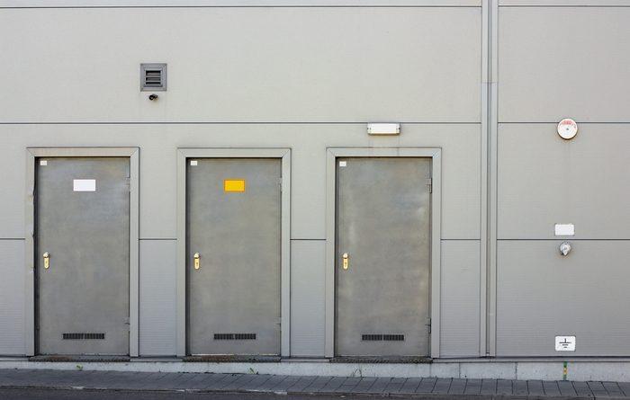 Виды технических дверей