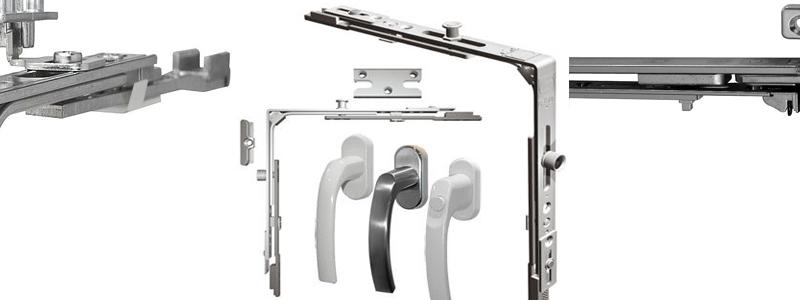 Фурнитура для металлопластиковых окон надежный замок для конструкции