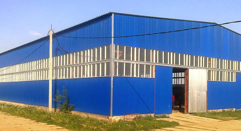 Строительство быстровозводимых ангаров и складов