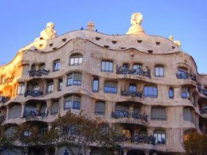 Архитектура дома в Барселоне