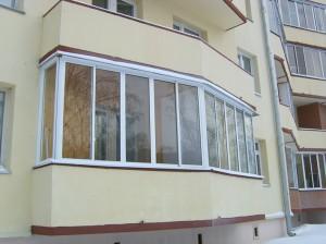 Безрамный метод остекления балкона и лоджии