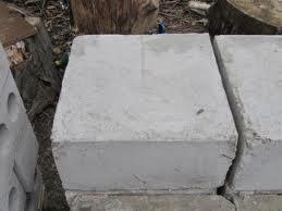 Блок бетонный 400х200х200