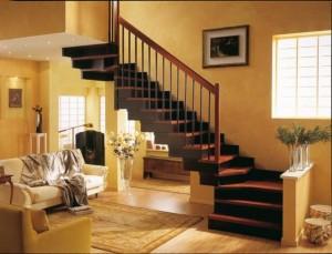 Деревянные лестницы Киев от ООО «Укрдрево» — высокое качество за приемлемую плату!