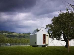 Экологичный мини-дом представили в Германии